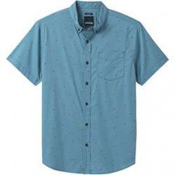 prAna Broderick Slim Shirt - Men's XXL Nickel Cherries