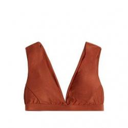 Carve Designs Cayman Bikini Top - Women's L Cinnamon Shimmer