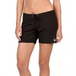 "Volcom Simply Solid 5"" Boardshort - Womens' 3 Black"