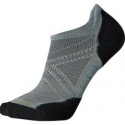 Smartwool Phd Run Light Elite Micro Sock - Men's L Frost Grey