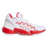 adidas D.O.N. Issue #2 Basketball Shoe - Unisex 9.5 Ftwwht/Scarle/Ftwwht Regular