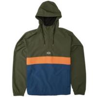 Billabong Wind Swell Anorak Jacket - Men's S Military