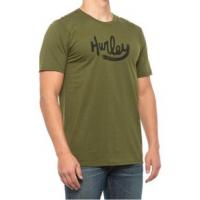 Hurley Premium Ovals Are Back Short Sleeve Graphic T-Shirt - Men's L LEGION GREEN