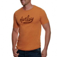 Hurley Premium Ovals Are Back Short Sleeve Graphic T-Shirt - Men's M MONARCH HEATHER