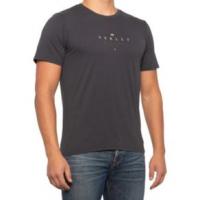 Hurley Fringe Short Sleeve Shirt - Men's S DK SMOKE GREY