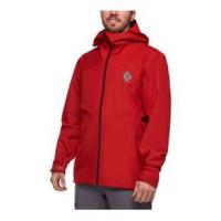 Black Diamond Liquid Point Shell Jacket - Men's XL Red Rock