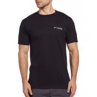 Columbia PFG Fish Flag Graphic T-shirt - Men's L Black/Graphite