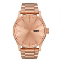 Nixon Sentry SS Watch One Size All Rose Gold