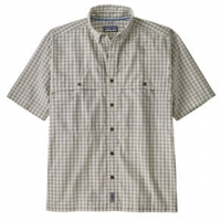 Patagonia Island Hopper Shirt - Men's L Voyage/Dyno White