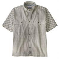 Patagonia Island Hopper Shirt - Men's M Voyage/Dyno White