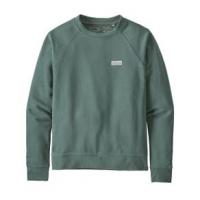 Patagonia Pastel P-6 Label Organic Crew Sweatshirt - Women's S Regen Green
