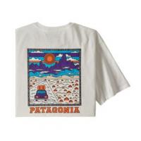 Patagonia Summit Road T-Shirt - Men's S Birch White