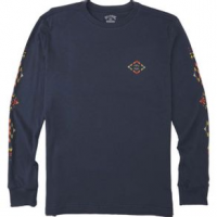 Billabong Dbah Long Sleeve T-shirt - Boys' XL Classic Navy