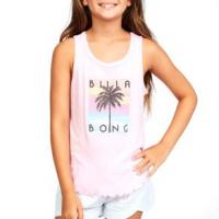 Billabong Go Surfing Tank Top - Girls' L Pink Lady