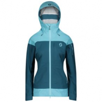 Scott Vertic 3L Jacket - Women's L Bright Blue/Majolica Blue