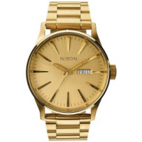 Nixon Sentry SS Watch One Size All Gold