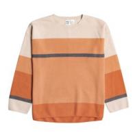 Roxy Metro Sound Stripe Sweater - Women's L Tapioca