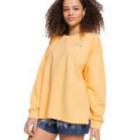 Roxy Love Song Sweatshirt - Women's S Sunburst