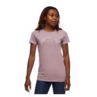 Black Diamond Summit Scribble Tee Shirt - Women's L Wood Violet