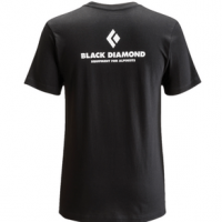 Black Diamond Equipment For Alpinists T-Shirt - Men's L Black