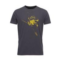 Black Diamond Faceshot Tee Shirt - Men's L Carbon