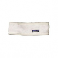 Patagonia Re-Tool Fleece Headband - Women's One Size Raw Linen/White X-Dye