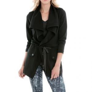 Lole Barbara Draped Front Jacket (For Women)