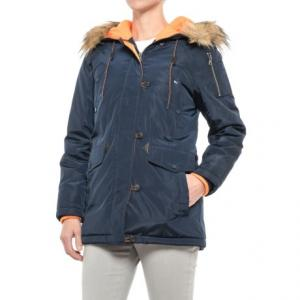 G.H. Bass and Co. Long Hooded Parka - Insulated (For Women)