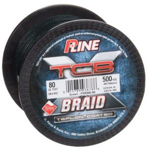 P-Line TCB Teflon(R)-Coated Braided Fishing Line - 80 lb., 500 yds.