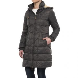 G.H. Bass and Co. Long Box-Quilted Parka - Insulated (For Women)