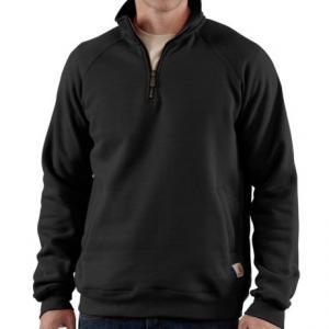 Carhartt Midweight Sweatshirt - Zip Neck (For Big Men)