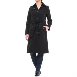 London Fog Midi Trench Coat - Detachable Liner (For Women)