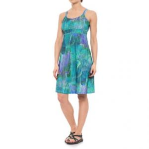 Taryn Shirred Racerback Dress - UPF 30, Sleeveless (For Women)