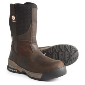 10? Force(R) Wellington Pull-On Work Boots - Waterproof, Composite Safety Toe (For Men)