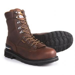 8? Low Logger Work Boots - Waterproof, Leather (For Men)