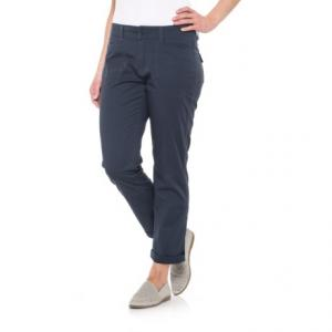 Midori Stretch Cotton Twill Pants (For Women)