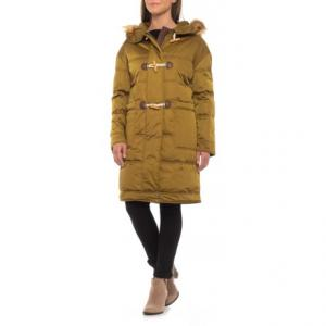 Down-Filled Toggle Puffer Coat - Insulated (For Women)