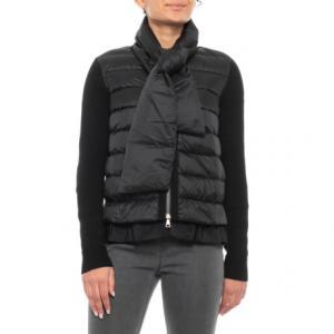 Nero Scarf Tie Down Jacket (For Women)