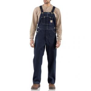Carhartt Denim Bib Overalls - Unlined, Factory Seconds (For Big and Tall Men)