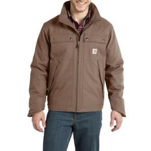 Carhartt Jefferson Quick Duck Traditional Jacket - Factory Seconds (For Big and Tall Men)