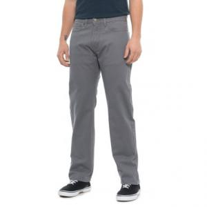 Standard Straight-Leg Jean-Cut Pants (For Men)