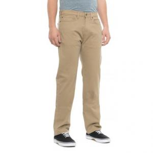Straight-Leg Jean-Cut Pants - 5-Pocket (For Men)