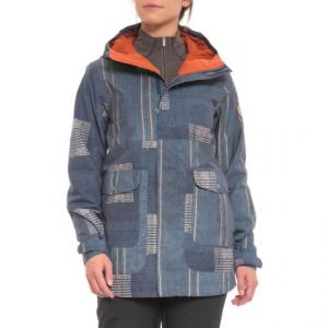 Rainbow Stripe Cerena Snowboard Jacket - Waterproof, Insulated (For Women)