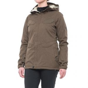 Snowboard Jacket - Waterproof, Insulated (For Women)