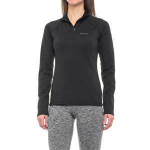 Stretch Fleece Jacket - Zip Neck (For Women)