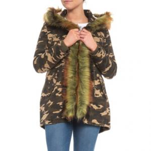 Furry Camo Parka - 3-in-1, Insulated (For Women)