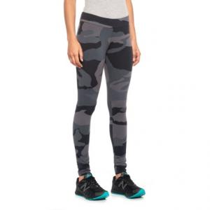 Vintage Black Camo Leggings (For Women)