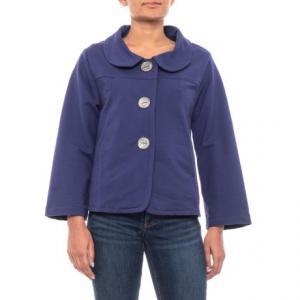 Royal Jewel Dharma Swing Jacket (For Women)