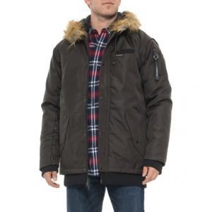 Oxford Snorkel Parka Jacket - Insulated (For Men)