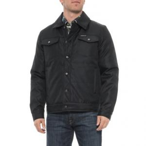 Textured Trucker Jacket - Insulated (For Men)
